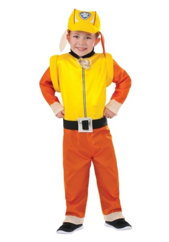 Kids Rubble Paw Patrol Costume