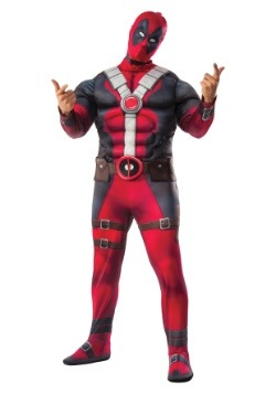 Plus Size Deluxe Deadpool Movie Costume