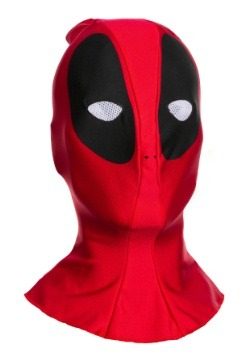 Adult  Deadpool Fabric Overhead Mask