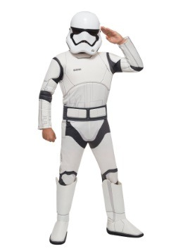 Star Wars The Force Awakens Deluxe Stormtrooper Costume
