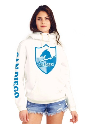San Diego Chargers Cowl Neck Women's Hoodie