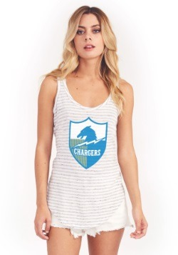 San Diego Chargers Time Out Tank Women's