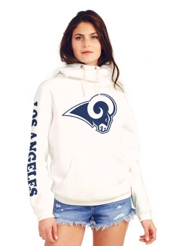 Los Angeles Rams Cowl Neck Women's Hoodie