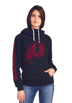 Washington Redskins Cowl Neck Women's Hoodie