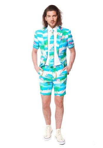 Men's Flamingo Summer Suit