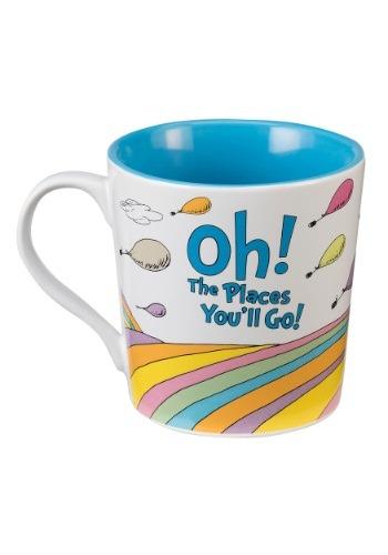 """Dr. Suess """"Oh the Places You'll Go"""" 12 oz Ceramic Mug"""