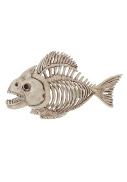 Skeleton Fish Halloween Prop