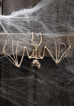 Skeleton Bat Halloween Decoration Prop