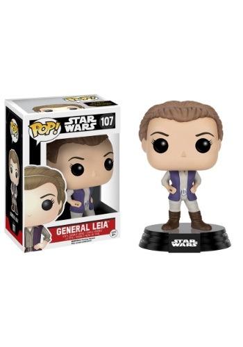 POP Star Wars Ep 7 General Leia Organa Vinyl Figur