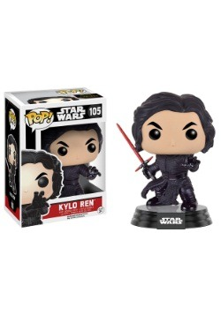 POP Star Wars Ep 7 Fighting Pose Kylo Ren Bobblehead Figure