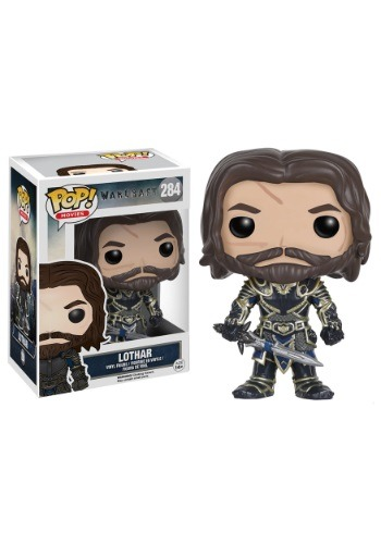 POP Warcraft Lothar Vinyl Figure