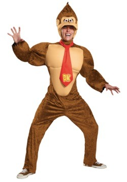 Deluxe Donkey Kong Costume for Adults