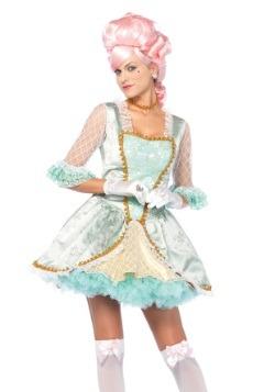 Deluxe Marie Antoinette Costume For Women
