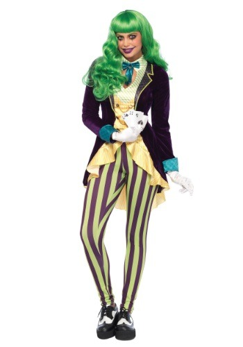 Women's Wicked Trickster Costume