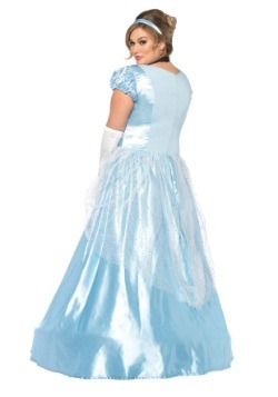 Plus Size Cinderella Classic Costume back