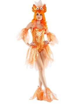 Womens Sexy Goldfish Costume