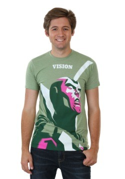 Avengers Vision Michael Cho Men's T-Shirt