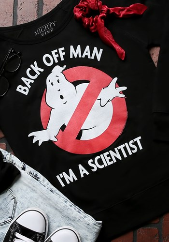 Ghostbusters Im A Scientist Juniors Pullover Updated