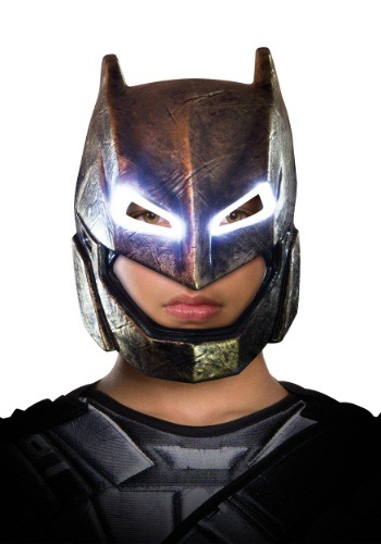 Adult DC Dawn of Justice Light-Up Armored Batman Mask
