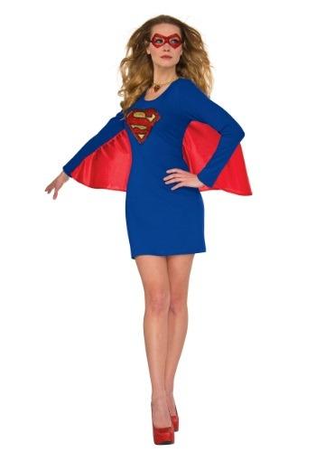 Women's DC Supergirl Cape Dress