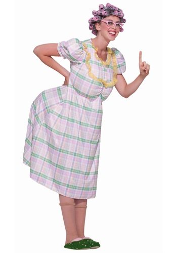 Women's Old Lady Costume