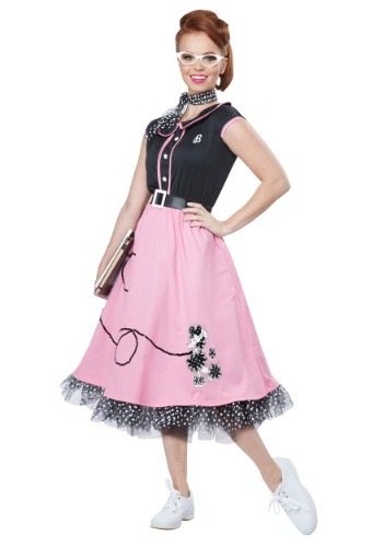 50's Sweetheart Womens Costume