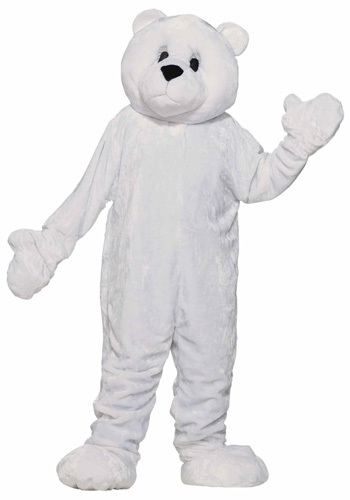 Mascot Polar Bear Adult Costume