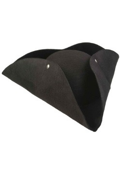 Deluxe Tricorn Pirate Hat For Adults