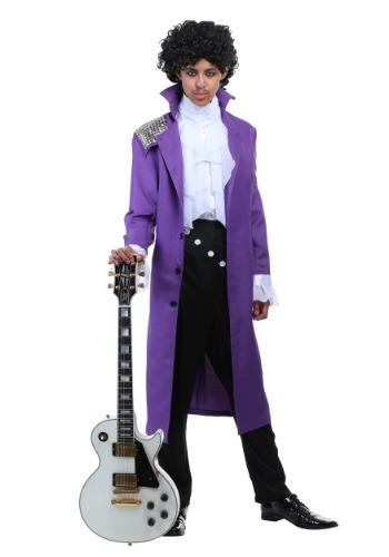 Purple Rock Legend Mens Costume