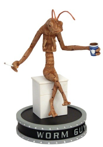 Men in Black Worm Guy Shakems Premium Motion Statue