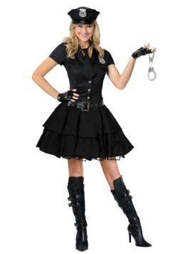 Playful Police Costume For Women