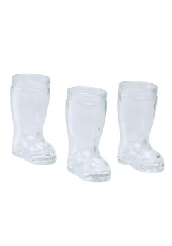 Mini Glass Boot 3 Pack Shot Glasses