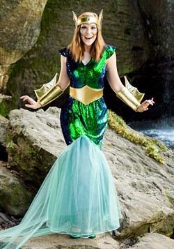Women's Sea Siren Plus Size Costume