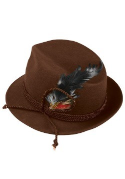 Brown Oktoberfest Hat For Men