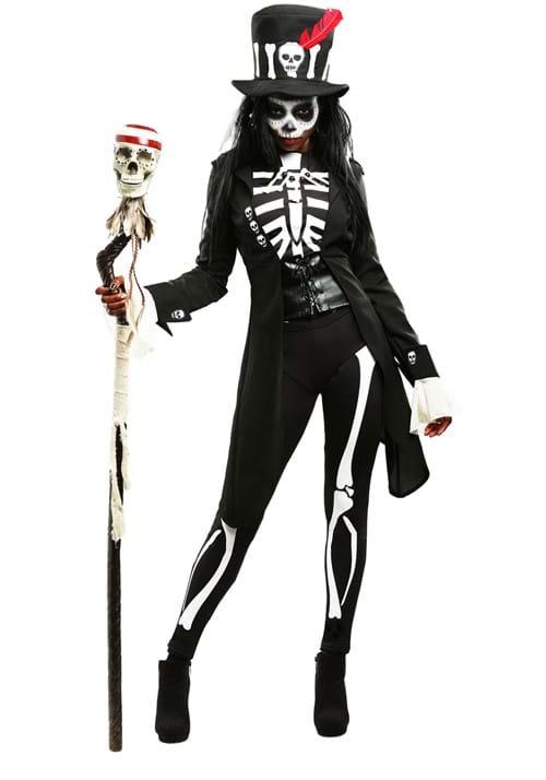 Women's Voodoo Skeleton Costume