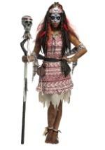 Women's Voodoo Witch Costume Alt2