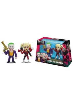 "Suicide Squad Joker & Harley Quinn 4"" Figure Twin Pack"