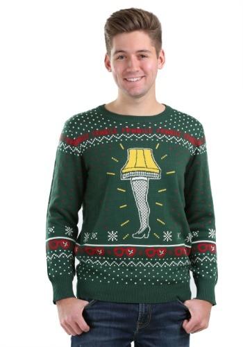 Christmas Story Leg Lamp Ugly Christmas Sweater