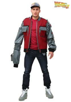 Plus Size Authentic Marty McFly Jacket