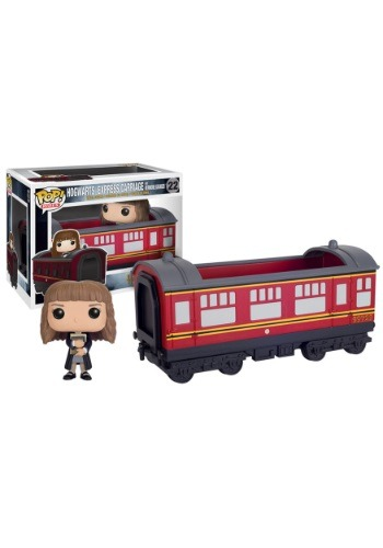 POP Harry Potter Hogwarts Express Train Car With Hermione Gr