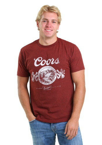 Miller Coors Vintage Brick Red Men's T-Shirt