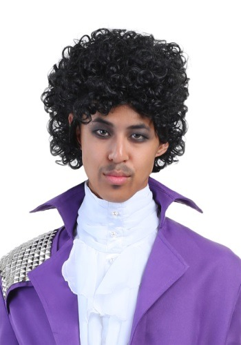 Men's Purple Rock Legend Wig