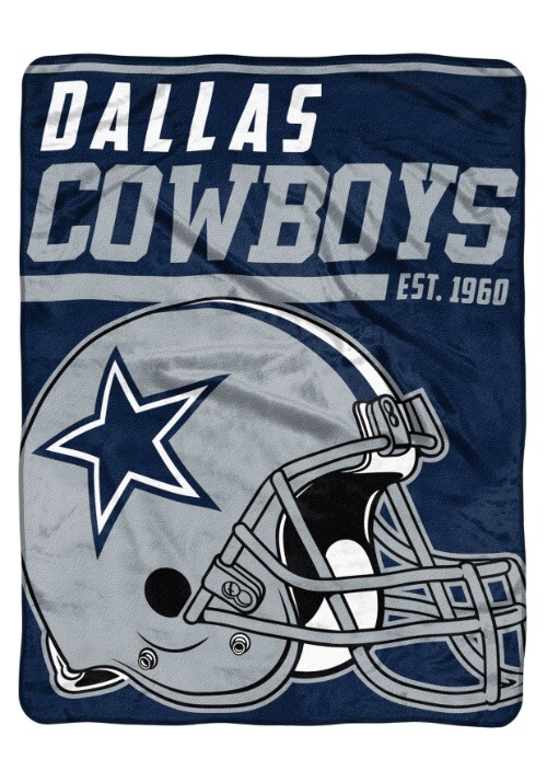 "Dallas Cowboys 46"" x 60"" Micro Raschel Throw Blanket"