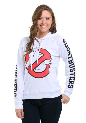 Ghostbusters Front & Back Print Juniors Hoodie