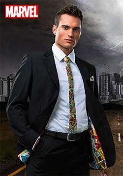 Marvel Comic Strip Suit Jacket (Secret Identity)
