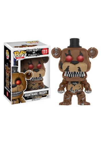 Five Nights At Freddy's Nightmare Freddy POP Vinyl Figure