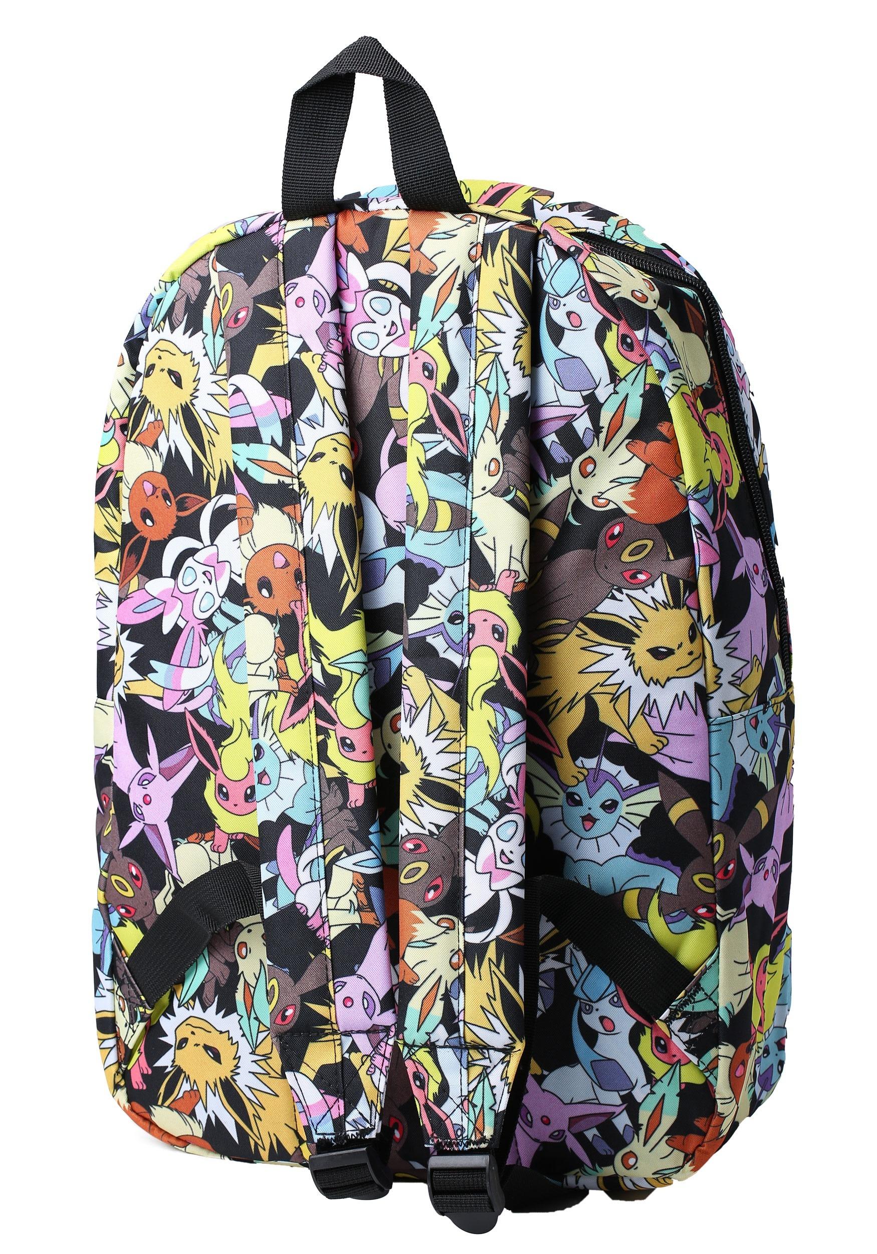 73cc7ae043f4 Pokemon Eevee Evolution All Over Print Backpack