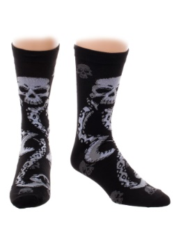 Harry Potter Deatheater Crew Socks