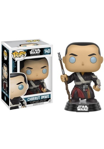 POP Star Wars Rogue One Chirrut Imwe Bobblehead Figure