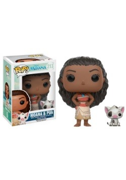 POP Disney Moana Moana and Pig Vinyl